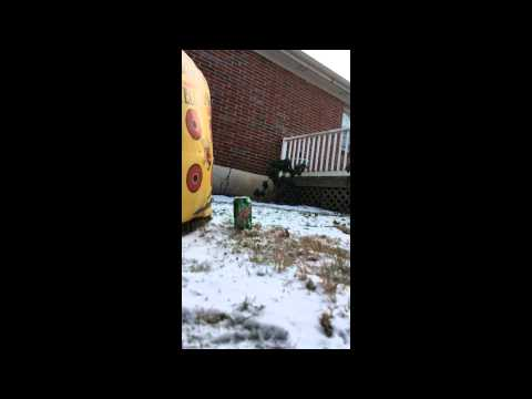 Soda Can vs. Air Gun (SLOW MOTION)