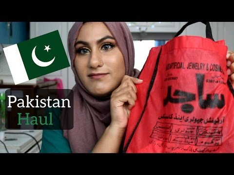 Pakistan Haul: Jewellery, Accessories and Stationery Part 1 | AmbreenK