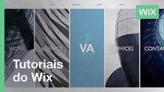 Wix.com | Crie lindos layouts para o seu site com colunas