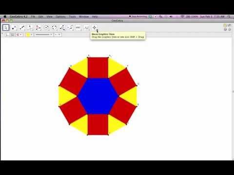 Geogebra Hexagon Tessellation