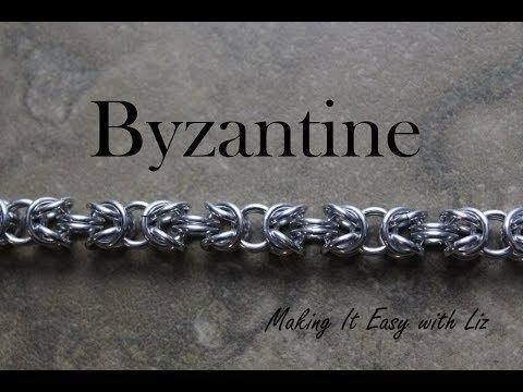 Beginner Chainmail - Byzantine Bracelet