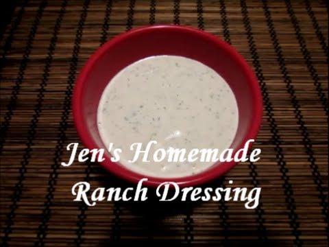 Jen's Homemade Ranch Dressing