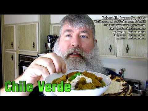 How To Make CHILE VERDE - Day 16,975