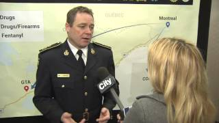 Video: OPP on the prevalance of fentantyl in Ontario