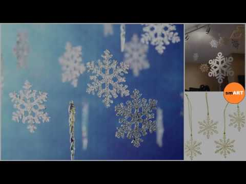 Snowflake Decorations - Snowflake Winter Wonderland Themed Party Decorations
