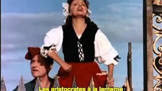 Edith Piaf Le Ca Ira It'll Be Fine French & English Subtitles