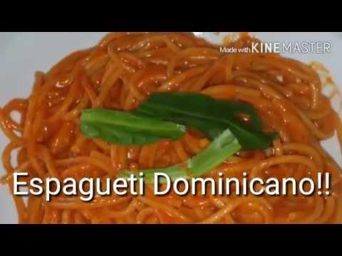 Espagueti Estilo Dominicano/#byMildredHidalgo