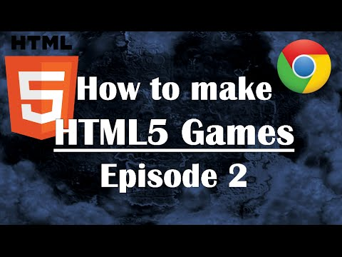 Ep2: How to Make HTML5 Games: Introduction to Javascript for Beginners JS HTML CSS Video Canvas