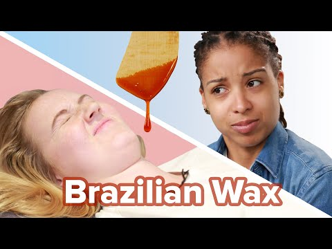 Women Try Brazilian Waxing For The First Time