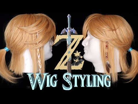 HOW I STYLED MY LINK COSPLAY WIG! | Wig Styling Tutorial