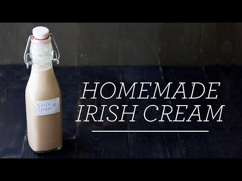 Homemade Irish Cream | 5 Minute Recipe