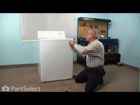 Washing Machine Repair- Replacing the Drive V Belt (Frigidaire Part # 8574157)