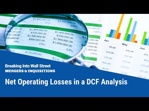 Net Operating Losses in a DCF Analysis