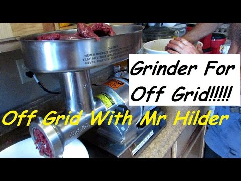 Grinding Your Own Meat!