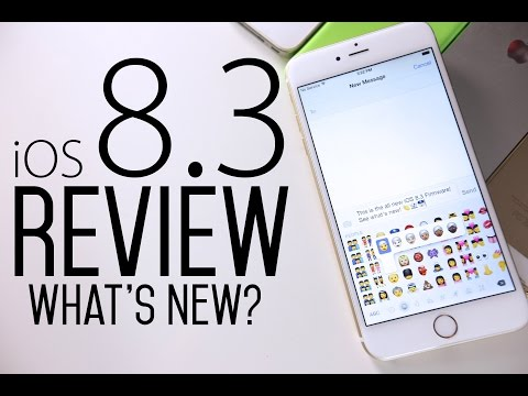 iOS 8.3 Review - What's New?