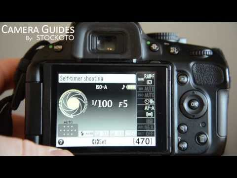 How to set / change Release Mode on a Nikon D5100 , D5200, D5300
