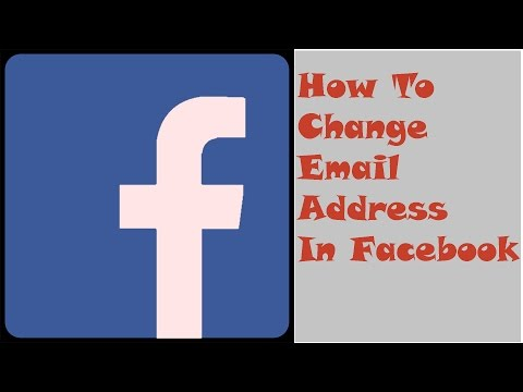 How to change email address on facebook-How to change your email address on facebook-facebook email