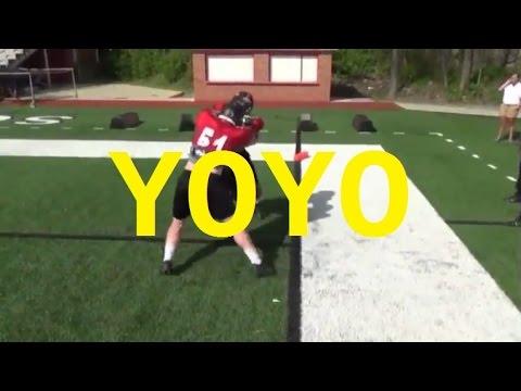 A Drill to Build Aggressive Defensive Linemen! - Football 2016 #31