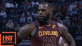 Cleveland Cavaliers vs Memphis Grizzlies 1st Half Highlights / Feb 23 / 2017-18 NBA Season