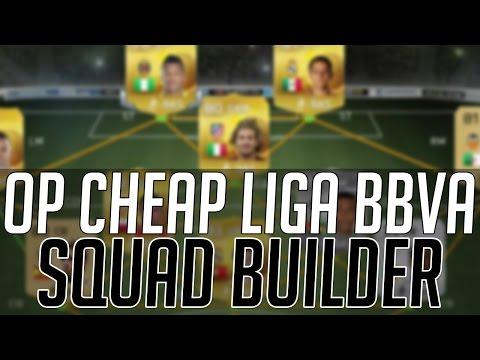 THE BEST CHEAP OVERPOWERED LIGA BBVA SQUAD (20K) | FIFA 15 Ultimate Team Squad Builder (FUT 15)