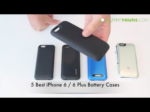 5 Best Battery Cases for iPhone 6S / 6S Plus - mophie,OtterBox,Incipio,Boost