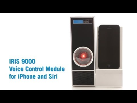 IRIS 9000 Voice Control Module for iPhone & Siri from ThinkGeek