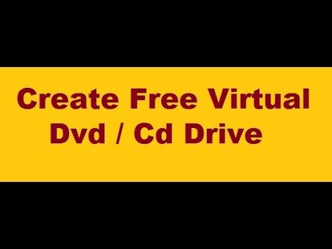Create free virtual dvd drive