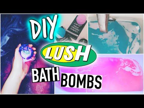 DIY Lush bath bombs + Demo!