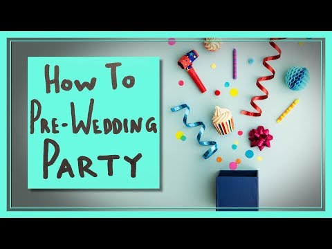 Wedding Showers and Bachelor/ette Parties Explained