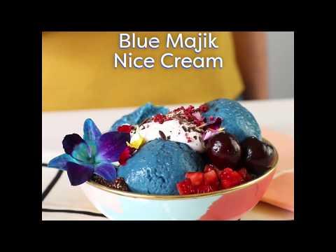 Single Serving: How to Make Blue Majik Nice Cream
