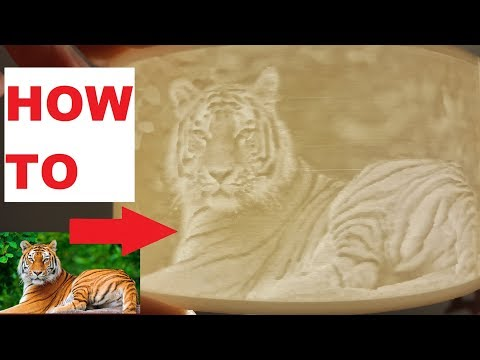 How to print picture with a 3D printer (lithophane)