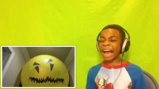 Bad Baby Giant Balloon Stalker ATTACKS Shiloh - Onyx Kids - Reaction!!!!!!!!