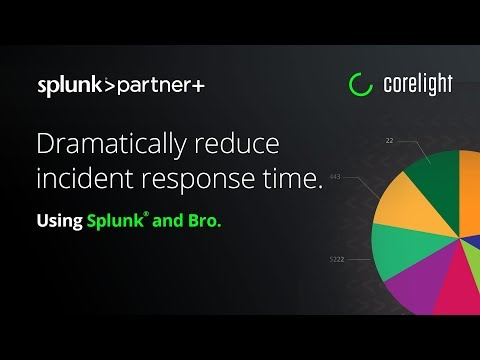 Dramatically reduce incident response time with Splunk® and Bro.
