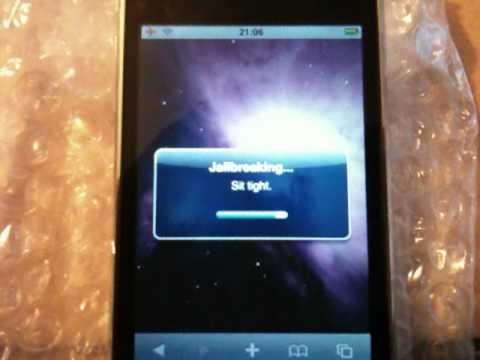How To iPhone 3GS AT&T Update Activation Jailbreak & Unlock iOS 4 / 4.0 / 4.0.1 Anleitung German