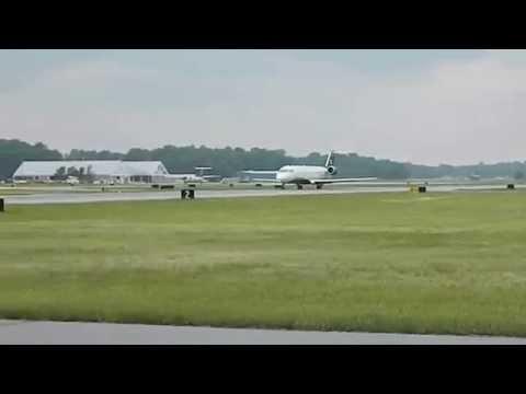 SBY Airport US Airways CRJ200
