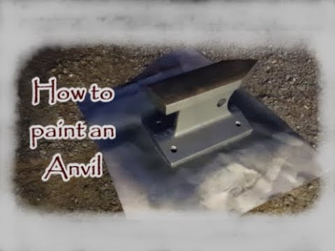 How To Paint an Anvil
