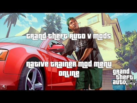 Grand Theft Auto 5 (GTA V) Mods - Native Trainer 1.15 Mod Menu (Online)