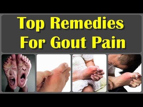 How To Cure Gout Naturally In 24 Hours And 10 Top Home Remedies For Reduce Gout Pain