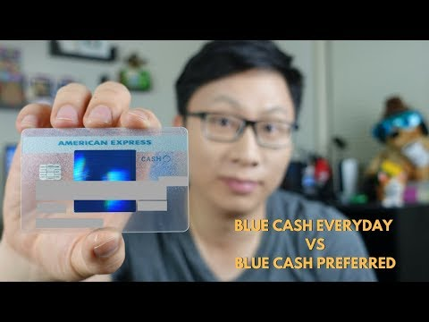 Best Grocery Credit Card: Amex Blue Cash Everyday vs. Preferred