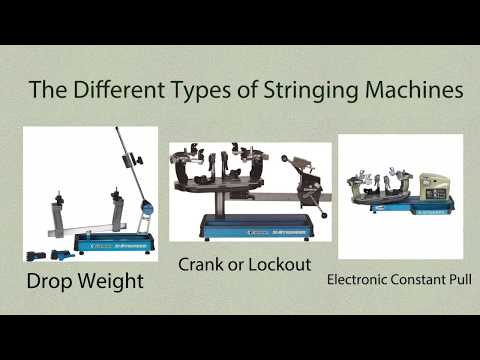 Everything you need to know about tennis stringing machines