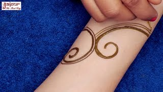 New Mehndi Design for Hands | Latest Arabic Henna Mehndi Design for Hands #176 @ jaipurthepinkcity