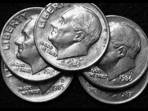Rare Dimes: 1985-1987 With Possible Misplaced Mintmarks