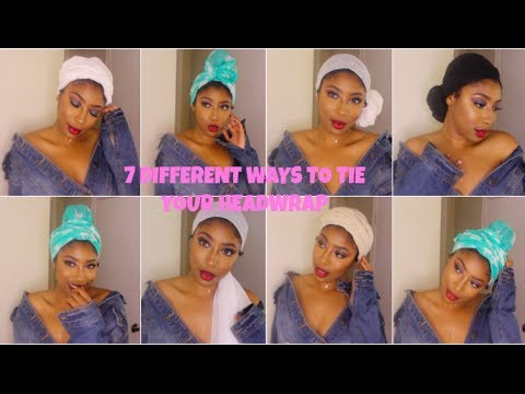 7 QUICK and EASY Ways to Wrap A Head Scarf