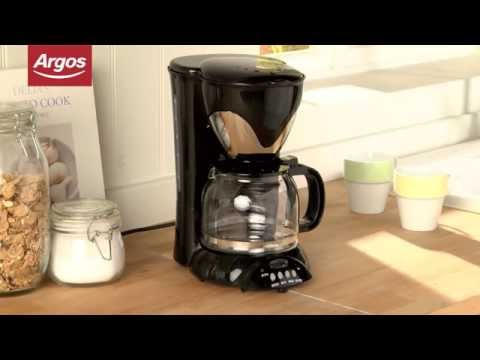 Cookworks XQ668T Filter Coffee Maker in Black Argos Review