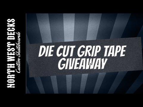 NWD Die Cut Grip Tape Giveaway!