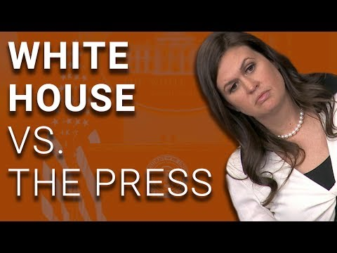 watch White House Tells Reporters Not to Report On Reporting Ban