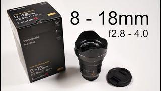 Panasonic Leica 8 - 18mm, Legendäres Weitwinkel für mft!