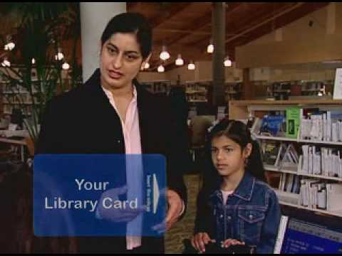 Library Card Spanish