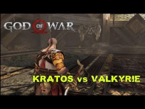Kratos vs Valkyrie GOD of WAR