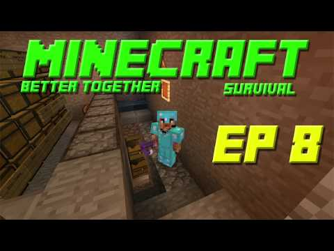 Minecraft Bedrock Edition Survival // AFK FISH FARM AND RUINING STUFF // Ep8